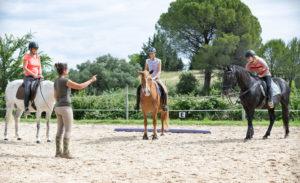 weer beginnen met paardrijden